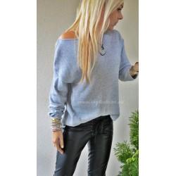 Sweter  z dodatkiem brokatowej nici Sweet Silver