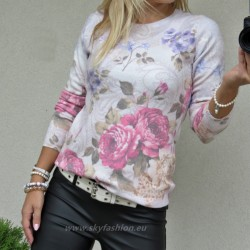 Sweter Louise Roses