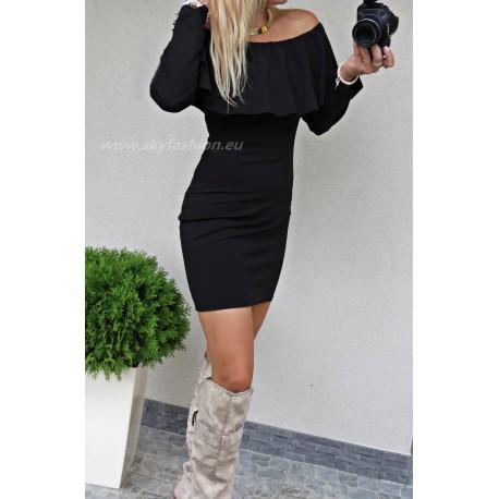Sukienka  EMMI hiszpanka z odkrytymi ramionami