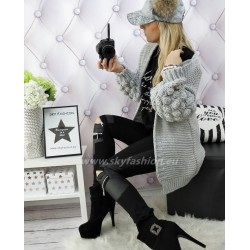 Kardigan, sweter  bomber knit