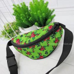 Nerka, saszetka folk green