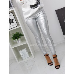 Spodnie dopasowane Silver