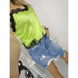 Asymetryczna  dżinsowa spódnica denim