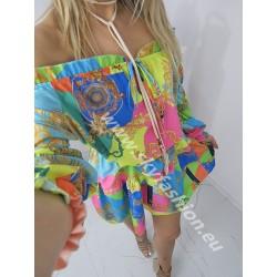 Kolorowa sukienka Spring