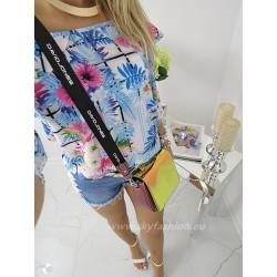 Bluzka hiszpanka multicolor Summer
