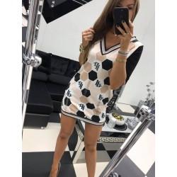 Czarna sukienka trapez Paparazzi Fashion