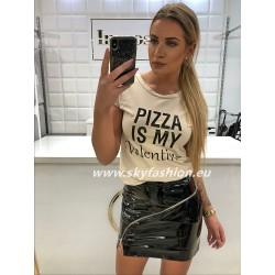 T-shirt , bluzka nude z napisem