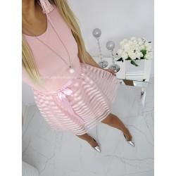 Sukienka Roxy pudrowy róż