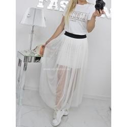 Zwiewna luksusowa spódnica tutu maxi tiulowa