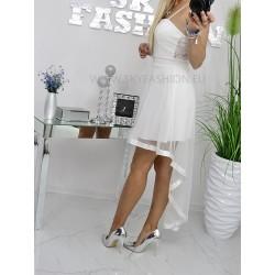 Ekri sukienka Wedding Party z trenem
