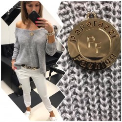 Paparazzi Fashion sweter Grey