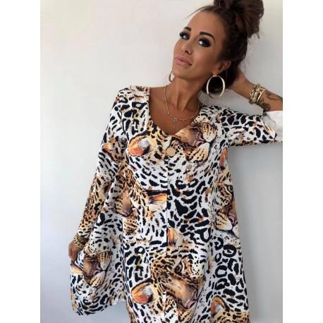 Sukienwiązana tygrys Lola Bianka