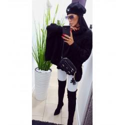 Sweterek Leila czarny