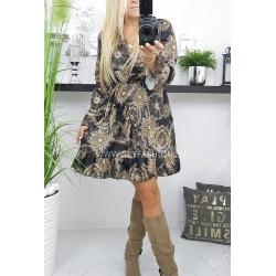 Sukienka we wzory  Elen
