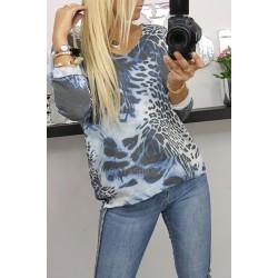 Sweter Louise Print