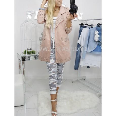 Płaszcz London Pink