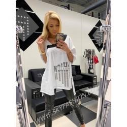 Biała bluzka Paparazzi Fashion