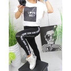 T-shirt Love short white