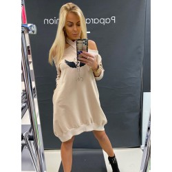 Paparazzi Fashion sukienka Karmel