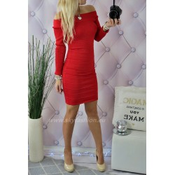 Gustowna  sukienka   z brokatem andrzejki/sylwester
