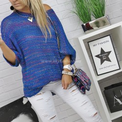 Oversizowy sweter Multicolor
