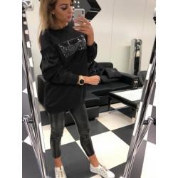 Czarna bluza Paparazzi Fashion VIP