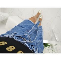 Najmodniejsza dżinsowa spódnica denim