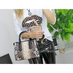 Wężowy kuferek torebka damska GALLANTRY